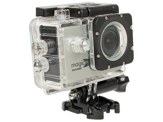 "Экшн-камера Gmini MagicEye HDS4000 1.5"" 1080p G-sensor Wi-Fi HDMI серебристый"