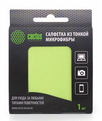 Чистящая салфетка Cactus CS-MF01 150 мл салфетка из микрофибры cactus cs mf02