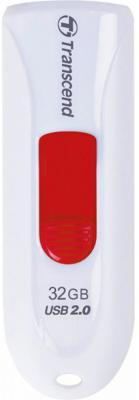 Флешка USB 32Gb Transcend JetFlash 590 TS32GJF590W белый флешка usb 16gb transcend jetflash 590 ts16gjf590w белый