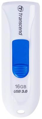 Флешка USB 16Gb Transcend Jetflash 790 USB3.0 TS16GJF790W белый флешка transcend jetflash 350 16gb