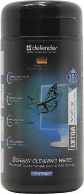 Влажные салфетки DEFENDER CLN30102 100 шт