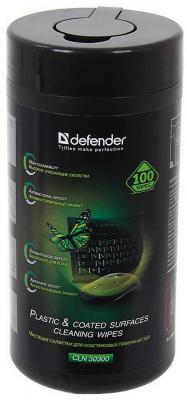 Влажные салфетки DEFENDER CLN30300 100 шт