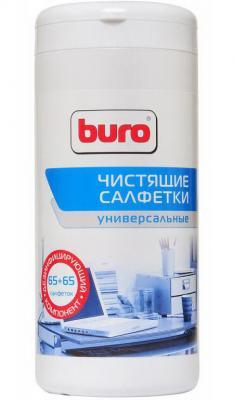 Влажные салфетки BURO BU-Tmix 65 шт влажные салфетки buro bu zsurface