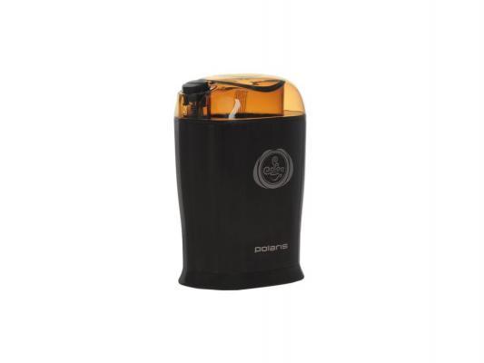 Кофемолка Polaris PCG 1017 150Вт коричневый