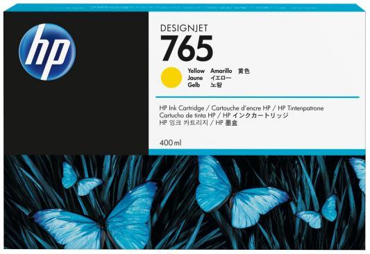 Картридж HP F9J50A №765 для HP Designjet T7200 желтый 400мл tp760 765 hz d7 0 1221a
