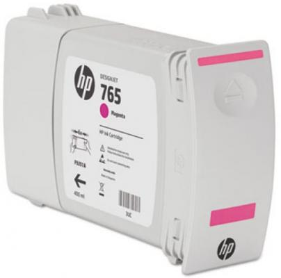Картридж HP F9J51A №765 для HP Designjet T7200 пурпурный 400мл free shipping q5669 60664 for hp designjet t610 t1100 z2100 z3100 z3200 vacuum fan aerosol fan assembly original used