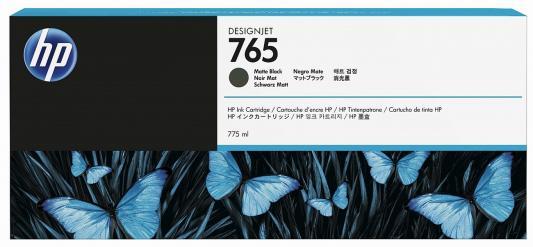 Картридж HP F9J55A №765 для HP Designjet T7200 черный матовый 775мл картридж hp f9j53a 765 для hp designjet t7200 серый 400мл