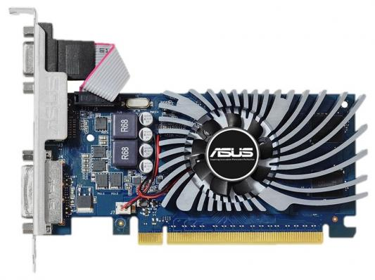 Видеокарта 2048Mb ASUS GeForce GT730 PCI-E 64bit GDDR5 DVI HDMI HDCP GT730-2GD5-BRK Retail yeston geforce gt 1030 gpu 2gb gddr5 64 bit gaming desktop computer pc video graphics cards support