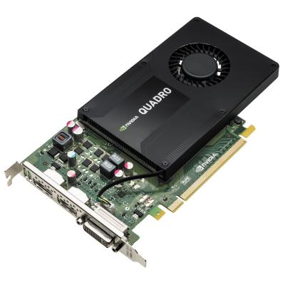 Видеокарта 4096Mb Dell Quadro K2200 PCI-E 128bit GDDR5 DVIx1 DPx2 OEM 490-BCGD