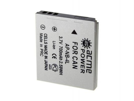 Аккумулятор AcmePower AP-NB-4L для фотокамеры CANON