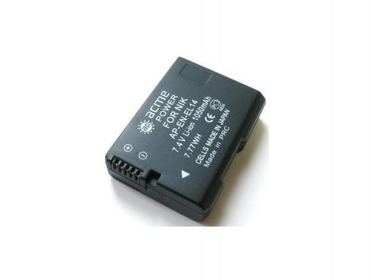 Аккумулятор AcmePower AP-EN-EL14 для фотокамеры NIKON аккумулятор acmepower ap en el3e