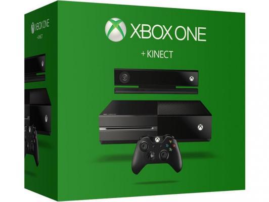 Игровая приставка Microsoft Xbox One 500Gb Kinect bundle черный 7UV-00126 + Dance Central Spotlight