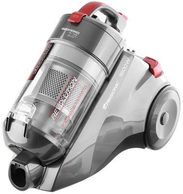 Пылесос Redmond RV-308 без мешка сухая уборка 1600Вт серый