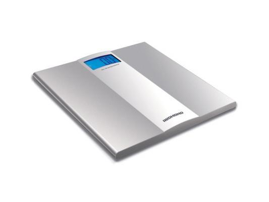 Весы напольные Redmond RS-710 серебристый кухонные весы redmond rs 736 полоски
