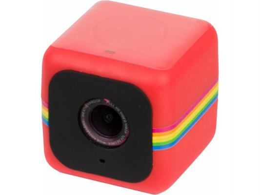 Экшн-камера Polaroid Cube POLC3R 1080р красный