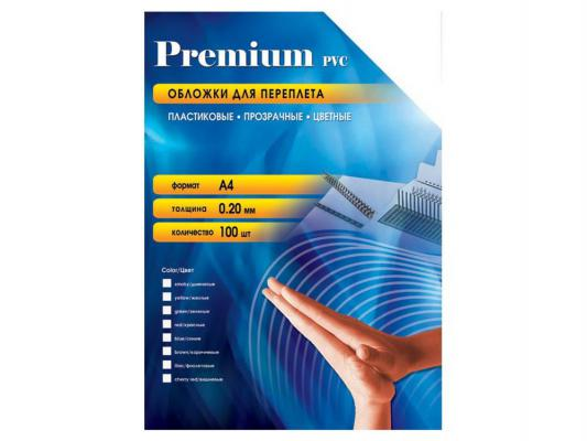Обложки Office Kit PGA400200 А4 0.20мм прозрачный зеленый 100шт
