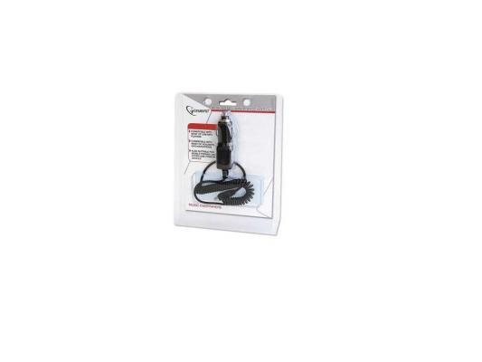 Автомобильное зарядное устройство Gembird MP3A-CAR-5P1 miniUSB 0.45А черный