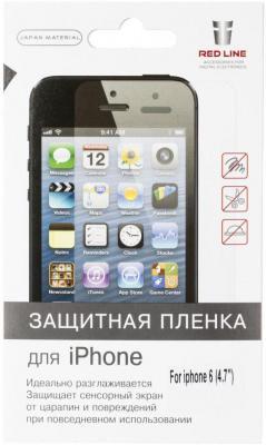 Защитная плёнка Red Line прозрачная для iPhone 6