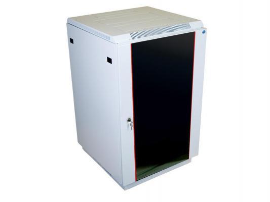 Шкаф напольный 27U ЦМО ШТК-М-27.6.10-1ААА 600x1000mm дверь стекло
