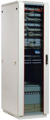 Шкаф напольный 38U ЦМО ШТК-М-38.6.10-1ААА 600x1000mm дверь стекло