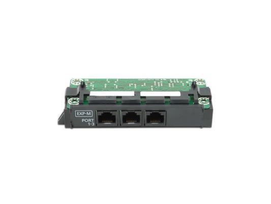 лучшая цена Плата расширения Panasonic KX-NS5130X ведущая плата расширения с 3-мя портами EXP-M