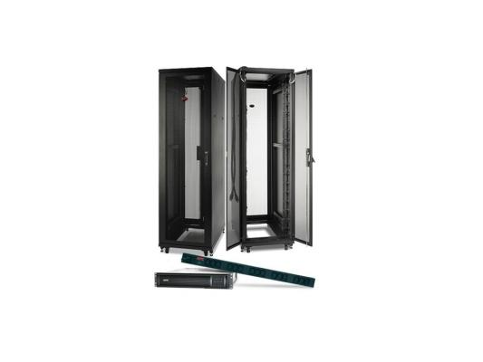 Шкаф APC NetShelter SV 48U 600ммx1060мм Deep Enclosure with Sides черный AR2407 шкаф apc netshelter sx 24u 600mm x 1070mm deep enclosure