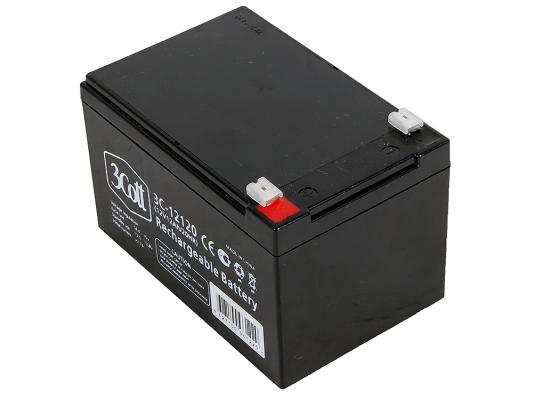 все цены на Батарея 3Cott 3C-12120 12V 12Ah
