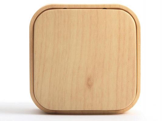 Одноклавишный выключатель Quteo 10A дерево 782260 выключатель 1 клавишный наружный дерево 10а quteo