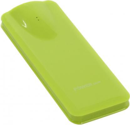 Портативное зарядное устройство KS-is KS-242 Green 2600мАч USB 3 адаптера зеленый