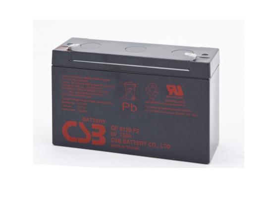 Батарея CSB GP6120 6V/12AH фляга stels csb 505wa 600мл