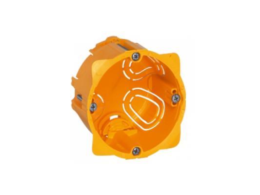 Электромонтажная коробка Legrand Batibox для перегородок 1 пост глубина 50мм 80051 электромонтажная металлическая коробка chnt 100 100 60