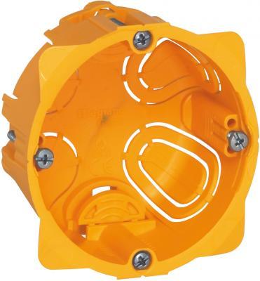 Электромонтажная коробка Legrand Batibox для перегородок 1 пост глубина 40мм 80041 монтажная коробка legrand plexo 1 пост белый 69689