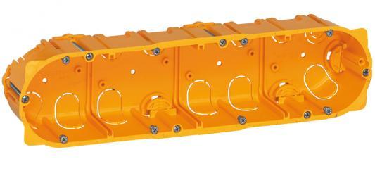 Электромонтажная коробка Legrand Batibox для перегородок 4 поста глубина 40мм 80044