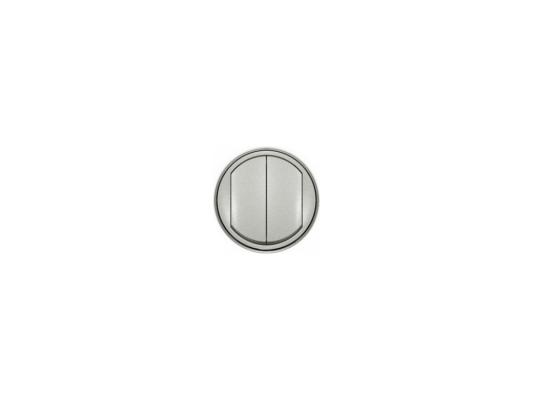 Лицевая панель Legrand Celiane для выключателя двойного титан 68302