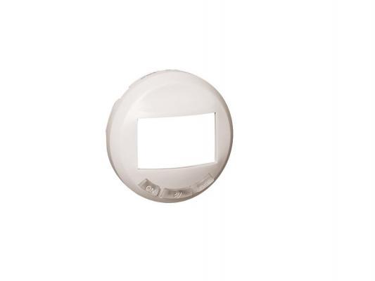 Лицевая панель Legrand Celiane для датчика движения с кнопкой белый 68035
