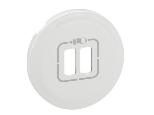 Лицевая панель Legrand Celiane для USB-розетки белая 68256