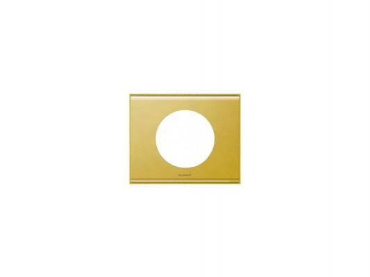 Рамка Legrand Celiane 1 пост золото 69131