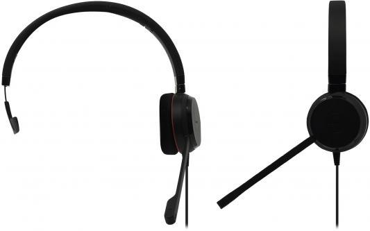 Гарнитура JABRA EVOLVE 20 UC Mono черный 4993-829-209 цена