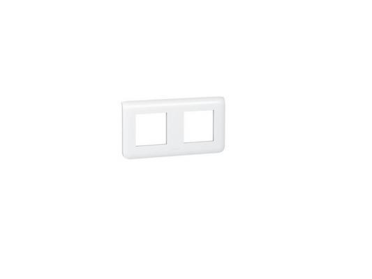 Рамка Legrand Mosaic 2х2 модуля горизонтальная 78804 anam legrand anam legrand zunis бежевый рамка 2 ая тлф2 тлф2 4 модуля 7101 84i