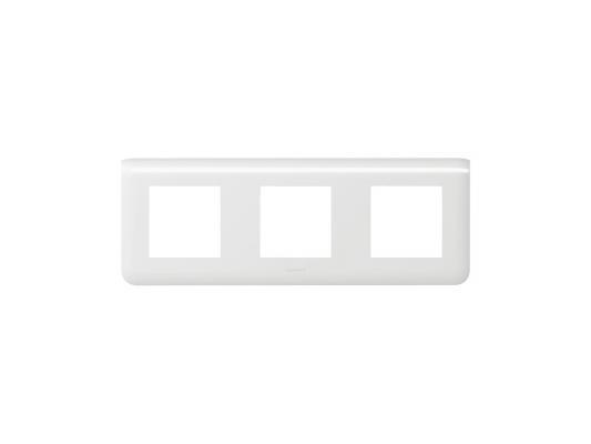 Рамка Legrand Mosaic 3х2 модуля горизонтальная 78806