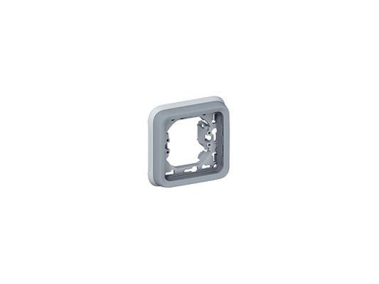 Рамка Legrand Plexo 1 пост серый 69681