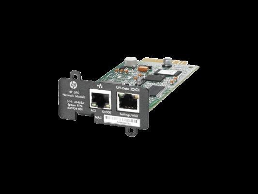 Адаптер HP UPS Network Module MINI-SLOT Kit for R1500 G3 R/T3000 G2 AF465A от 123.ru