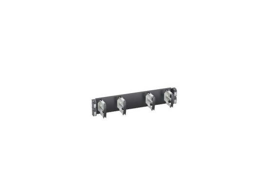 """Горизонтальный кабельный органайзер Schneider Electric Actassi VDIG188142 19"""" 2U 4 кольца"""