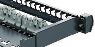 Держатель кабеля для патч-панелей Schneider Electric Actassi 4шт VDIM11U001
