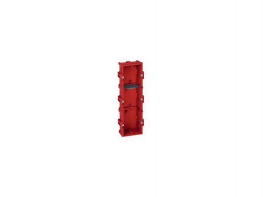 Электромонтажная коробка Legrand Batibox для кирпичных стен 3 поста глубина 40мм 80143