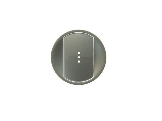 Лицевая панель Legrand Celiane для выключателя с индикацией титан 68303
