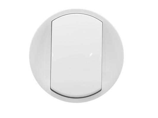 Лицевая панель Legrand Celiane для выключателя белый 68001