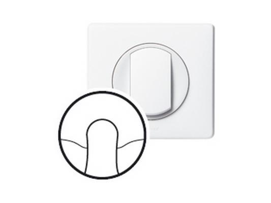 Лицевая панель Legrand Celiane для кабельного вывода белый 68141