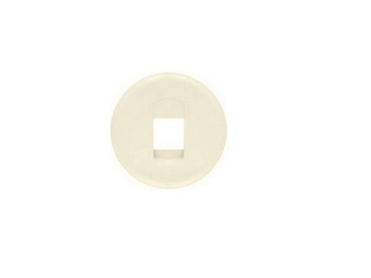 Лицевая панель Legrand Celiane для розетки для колонок слоновая кость 66240