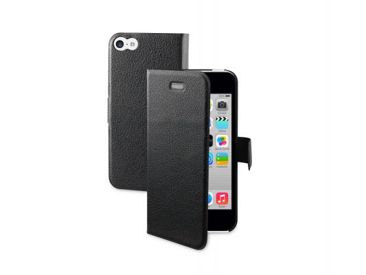 Купить Чехлы для смартфонов   Чехол Muvit Silvershield Folio для Apple iPhone 5C кожа черный MUSVS0010